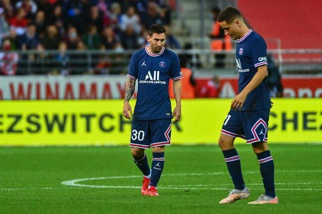 PSG : Messi acclamé à Reims, le public en mode footix