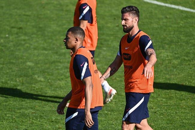 EdF : Giroud victime de Mbappé, le ton monte !