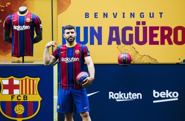 Barça : Agüero peut jouer, Busquets et Alba baissent leur salaire