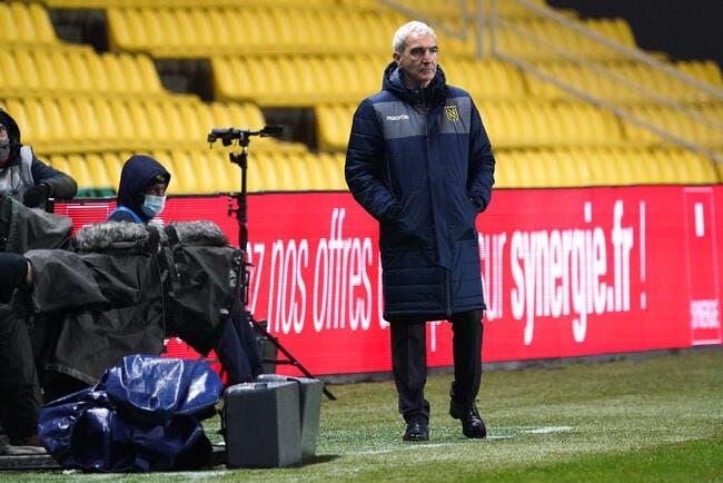 FCN : À peine arrivé, Domenech déjà en sueur à Nantes