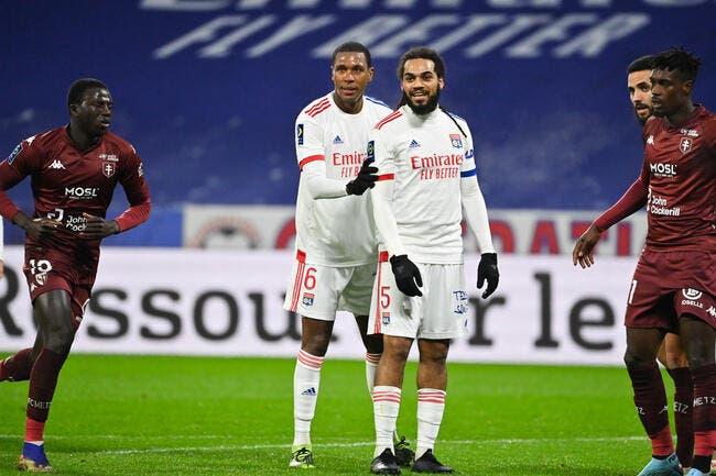 OL : Lyon sans Denayer à Dijon