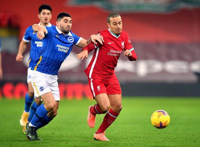 Ang : Liverpool encore battu à Anfield