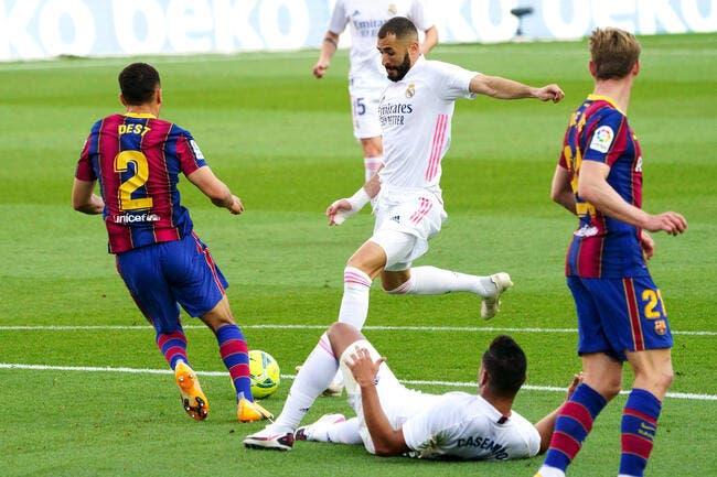 Esp : Le Real Madrid en «super crise», le Barça scandalisé