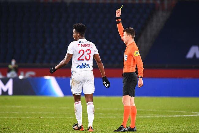 LFP : Un match de suspension pour Thiago Mendes