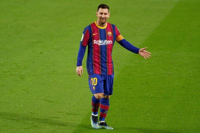 PSG-Barça arrive, Messi refuse de mettre le feu au match