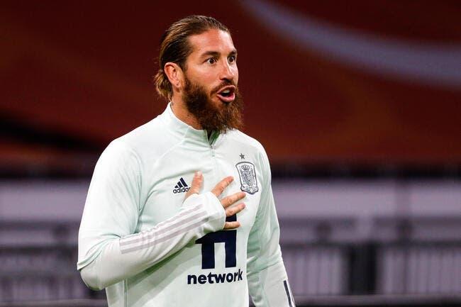 Esp : Sergio Ramos opéré du ménisque