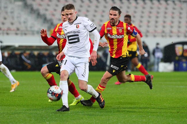 L1 : Rennes cale à Lens, le podium s'éloigne