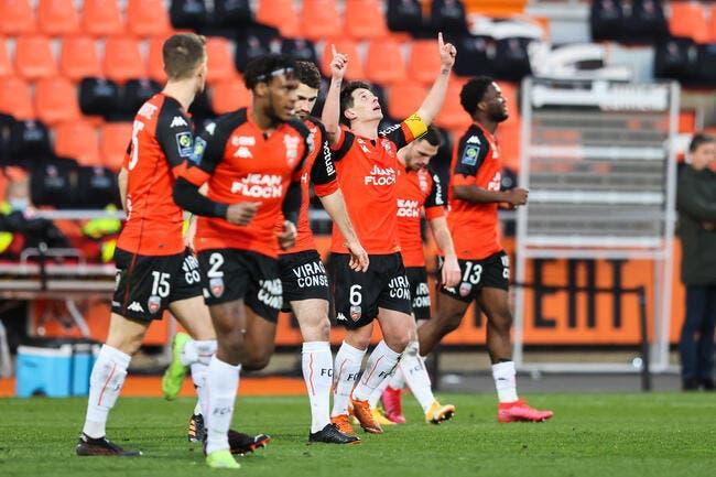 Lorient bat Reims et poursuit sa remontada