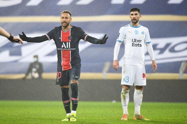 PSG-OM : Neymar prêt à bouffer du Marseillais