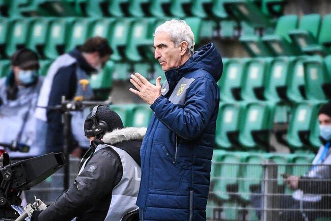 FCN : Nantes est dans le rouge, Domenech ne voit qu'une issue