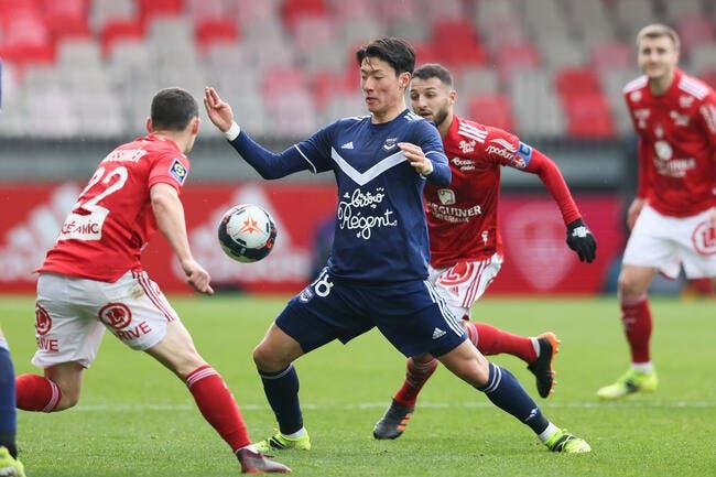 L1 : Brest torpille un pauvre Bordeaux