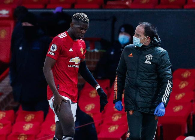 Ang : Paul Pogba absent plusieurs semaines