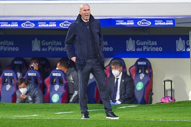 Esp : Zidane menacé, il s'en fout presque