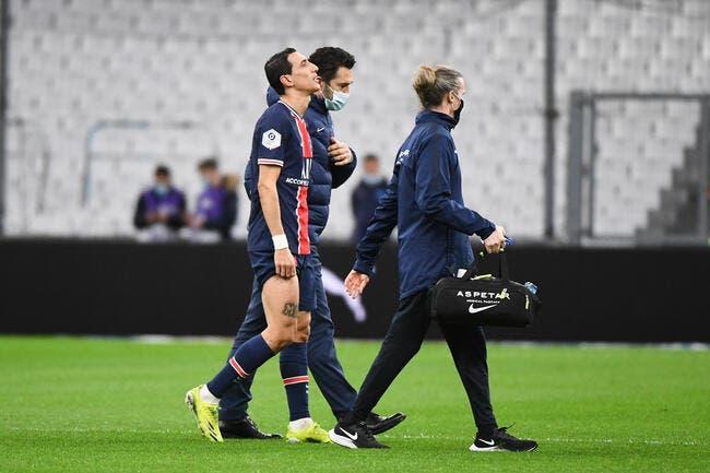 Barça-PSG : Coup dur pour Pochettino, Di Maria vers le forfait