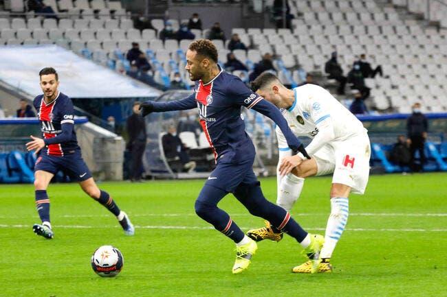 OM : Alvaro s'excuse après son choc avec Neymar