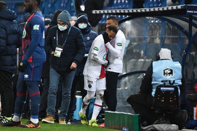 PSG : Blessure confirmée pour Neymar