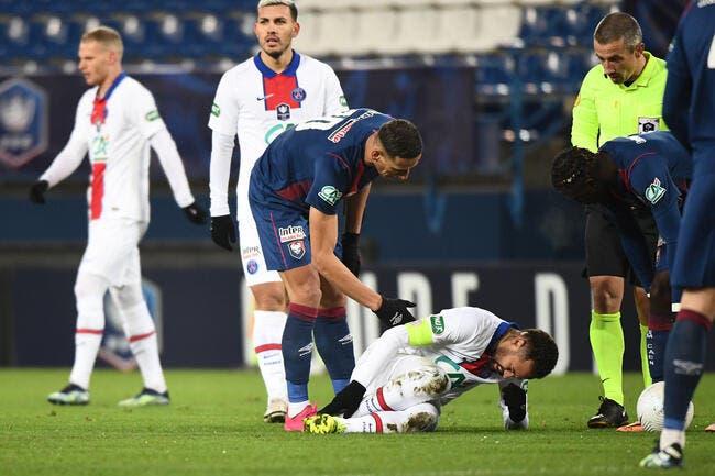 PSG : Coup dur ? Neymar sort sur blessure !
