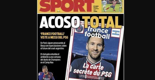 PSG : Messi harcelé, France Football dézingue le Barça