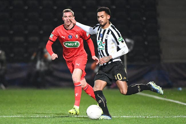 CdF : Fulgini sort le grand jeu, Angers élimine Rennes