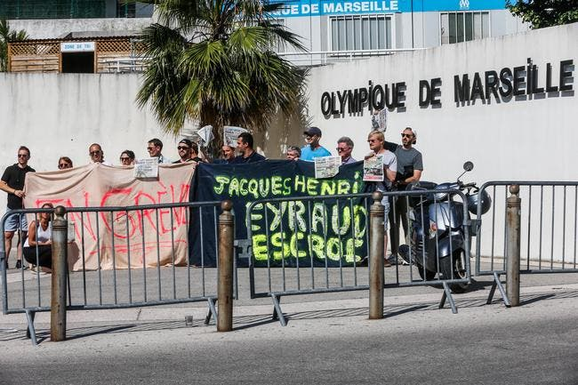 OM : Eyraud gravement menacé, la police débarque