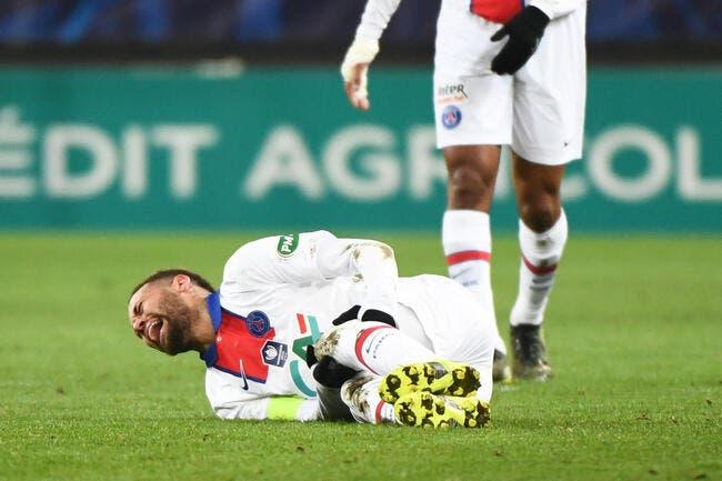 PSG : Neymar absent 1 match sur 2, la stat qui tue