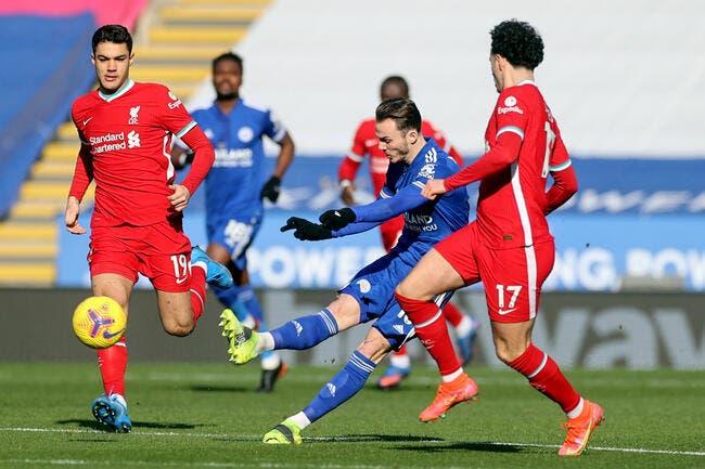 Ang : Leicester fait exploser Liverpool en 6 minutes !