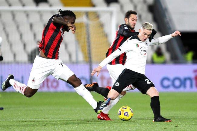 Ita : L'AC Milan tombe de haut à La Spezia