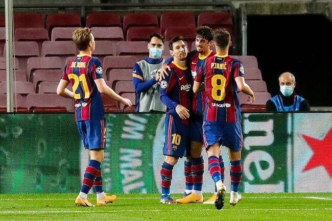 Barça : Messi-Trincao, ça sent l'enfer pour le PSG