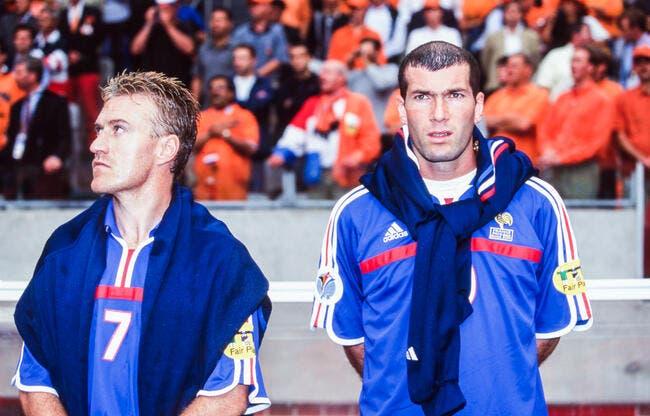 FFF : Deschamps patron de Zidane, l'idée est lancée