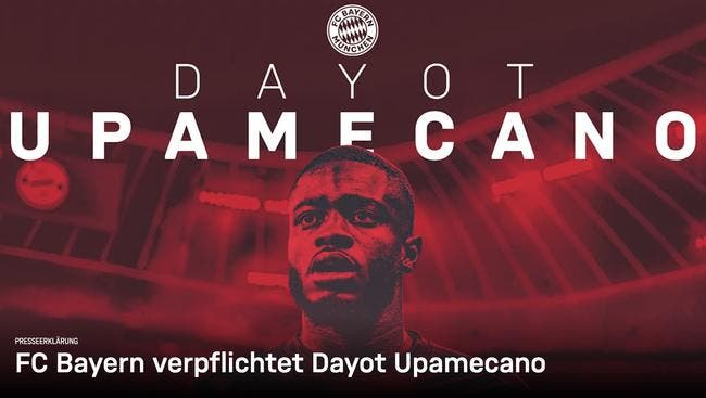 Officiel : Upamecano signe au Bayern Munich jusqu'en 2026
