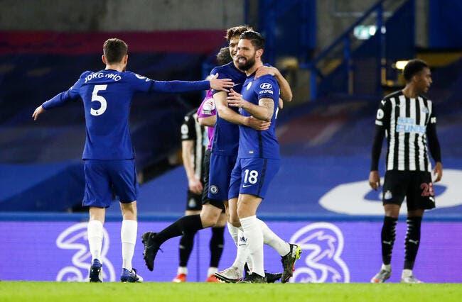 Ang : Giroud buteur, Chelsea vainqueur