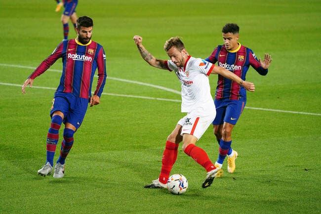 Barça-PSG : Le groupe de Barcelone avec Piqué