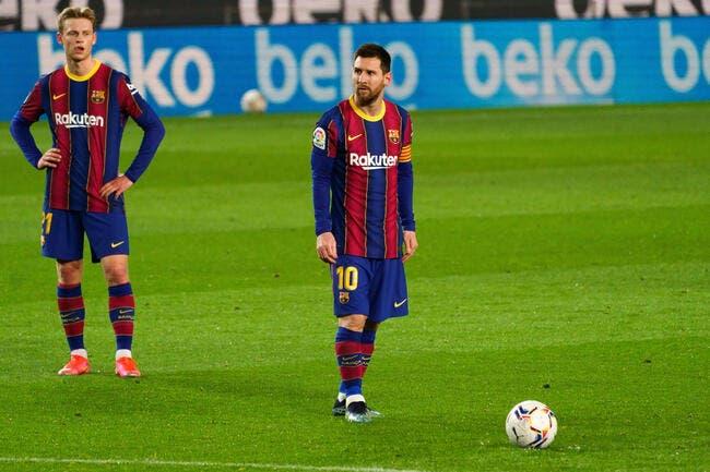 Esp : Barcelone pigeonné, il tire son chapeau à Messi