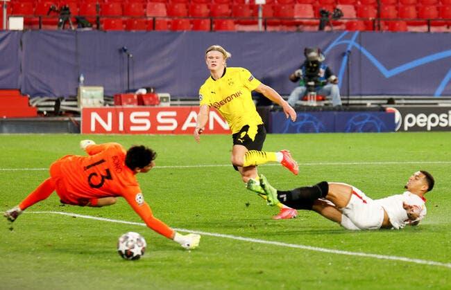 LdC : Haaland donne l'avantage à Dortmund