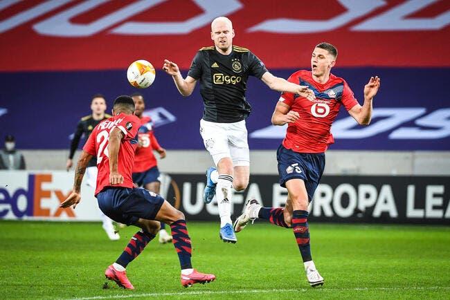 EL : Le LOSC gâche tout contre l'Ajax Amsterdam