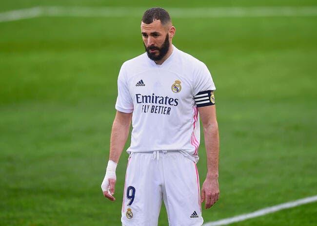 Esp : Benzema dépendance, alerte au Real Madrid