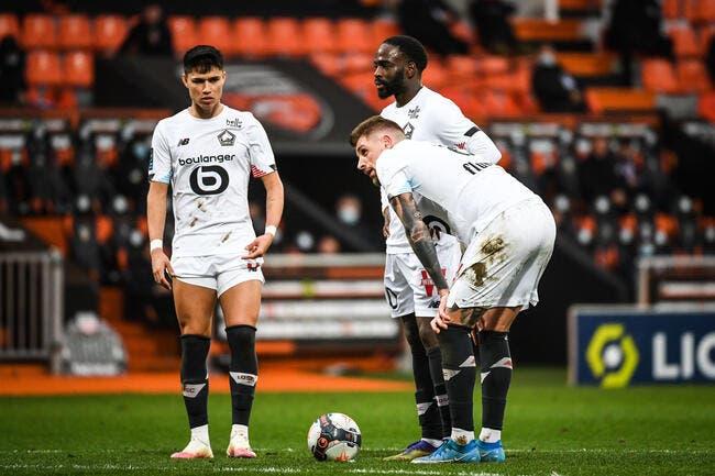 L1 : Lille ne tremble pas à Lorient et reprend la tête