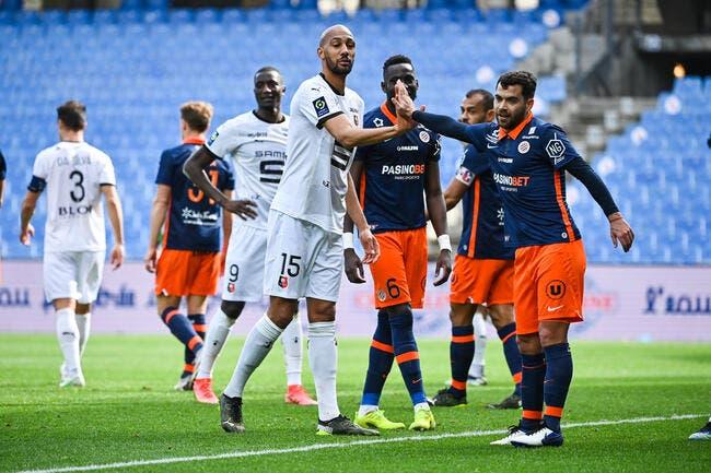 L1 : Montpellier pousse Rennes vers la crise