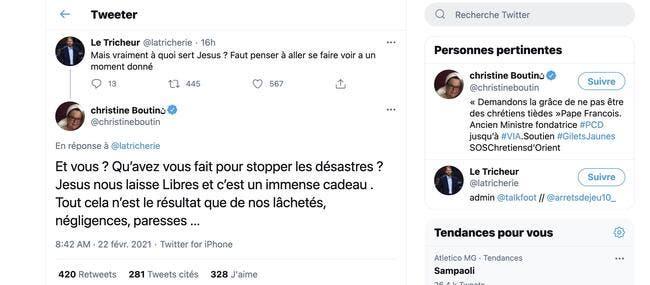 WTF : Quand Christine Boutin confond Jesus et Jésus