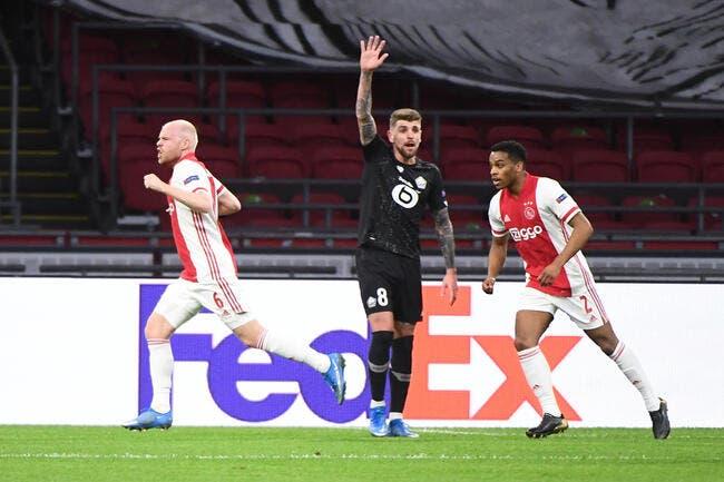 EL : L'Ajax était trop fort, le LOSC éliminé !