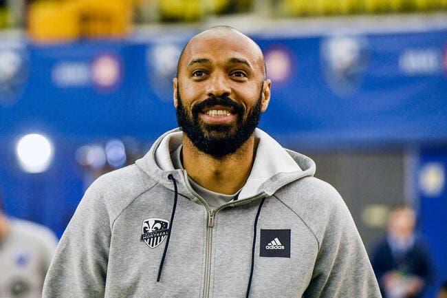 Thierry Henry démissionne du CF Montréal