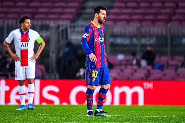 Eliminer le PSG et garder Messi, le Barça attaque !