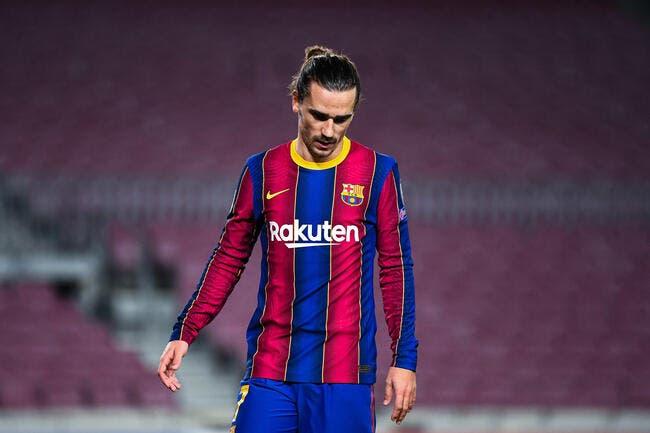 Esp : Antoine Griezmann sanctionné par le FC Barcelone ?