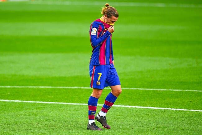 Barça: Griezmann et les pieds carrés, Koeman craque