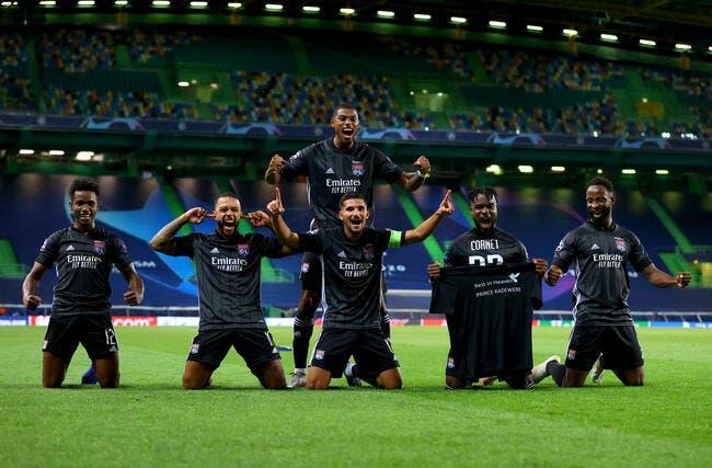 OL : L'exploit face à Man City élu match de l'année !