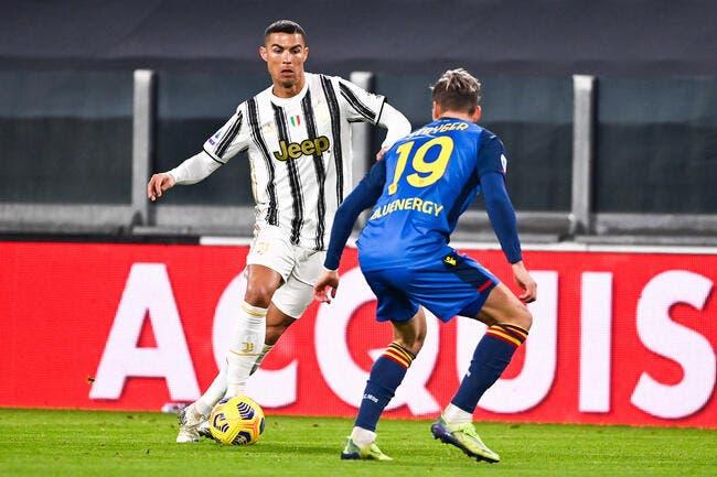 Serie A : 2021 commence fort pour Cristiano Ronaldo et la Juve
