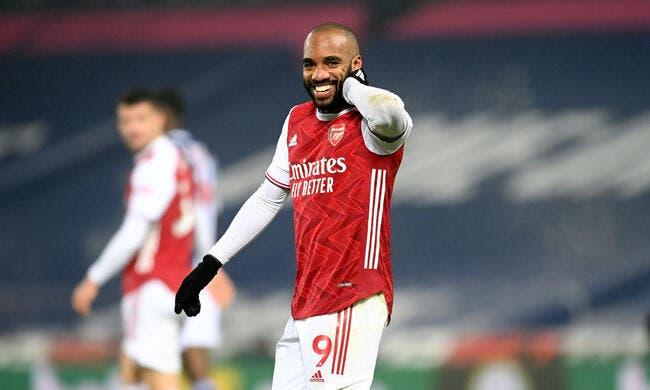 Ang : Lacazette, c'est du grand délire à Arsenal