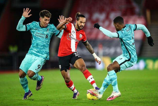 PL : Liverpool tombe à Southampton