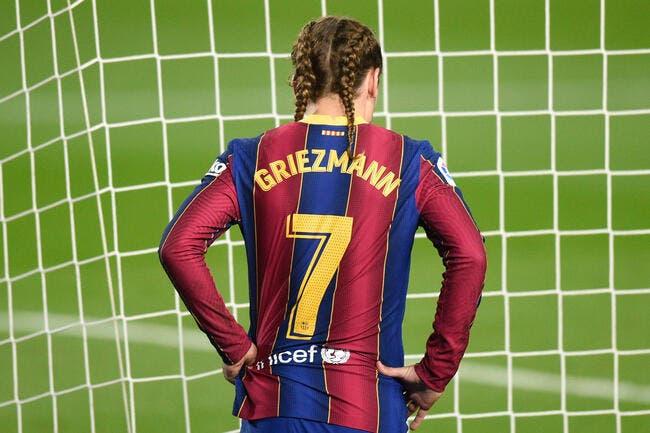 Esp : Griezmann, le Barça lui donne une dernière chance !