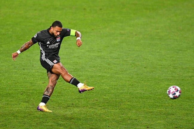 OL : Depay prolongé, Lyon joue sa dernière carte